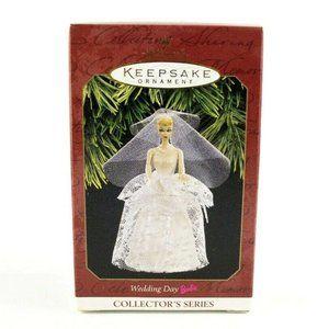 Hallmark Ornament Wedding Day Barbie 1997